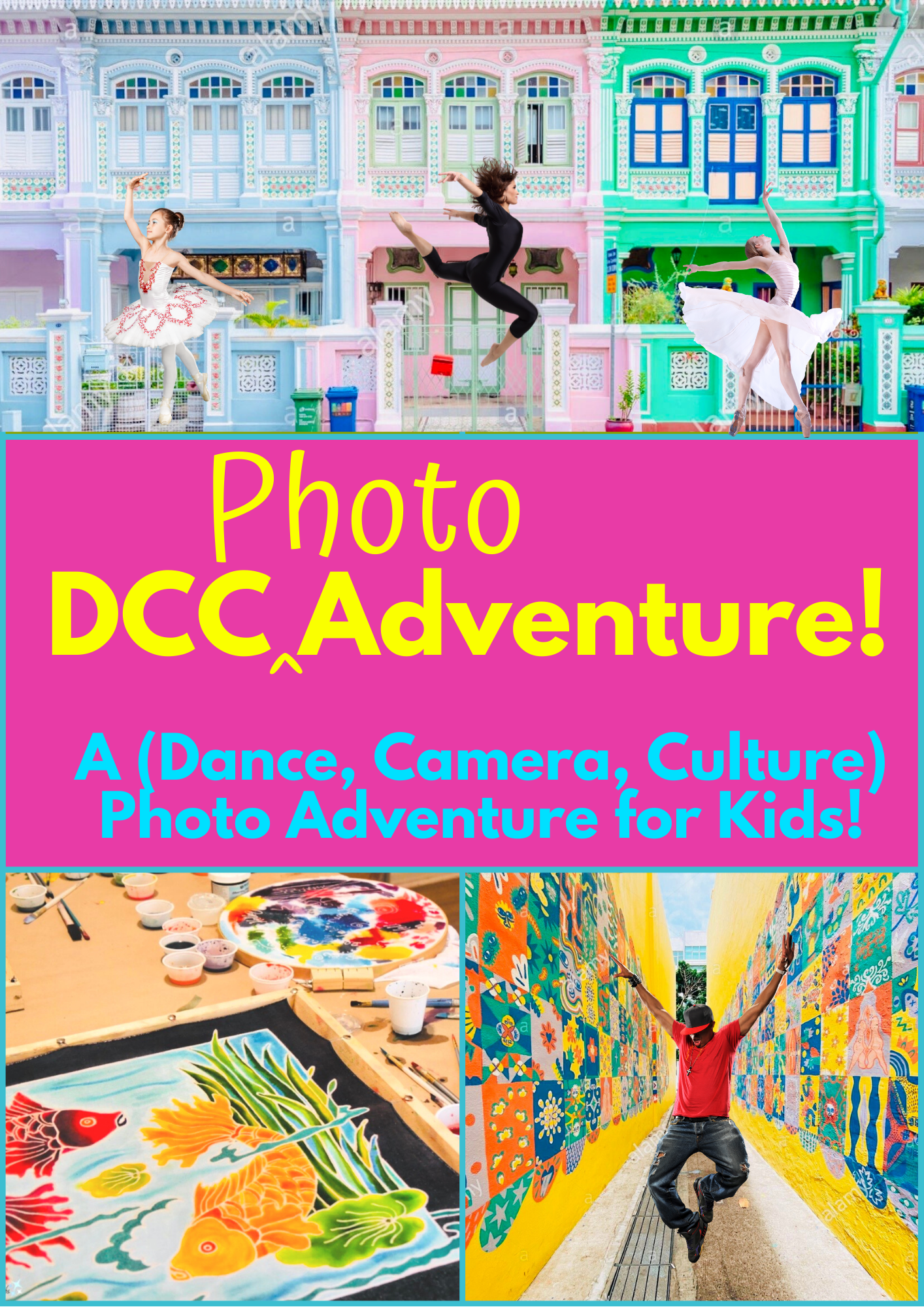Ritz Dance Holiday Program for Children - Dance, Camera, Culture Photo Adventure